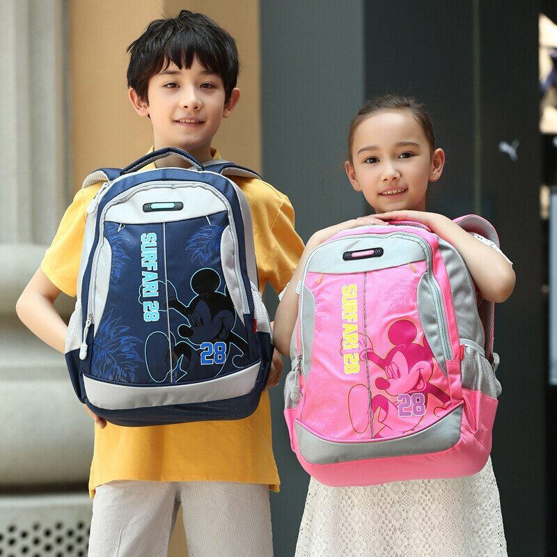 disney escola saco para adolescentes mickey mouse impresso adolescentes bakpack estudante