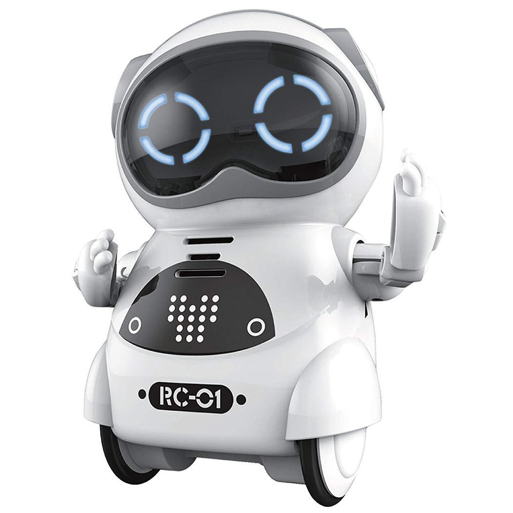 جيب روبوت يتحدث الحوار التفاعلي التعرف على الصوت سجل الغناء الرقص رواية قصة لعبة صغيرة الروبوت الذكية