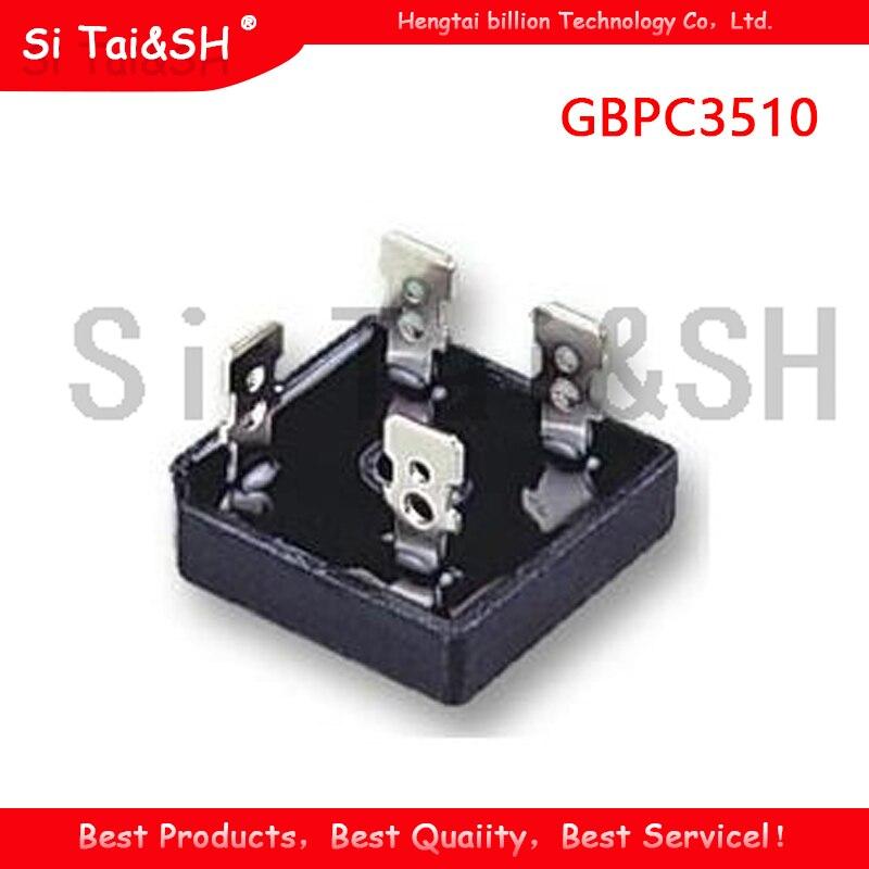 2 шт GBPC3510 35A 1000V Мостовой выпрямитель