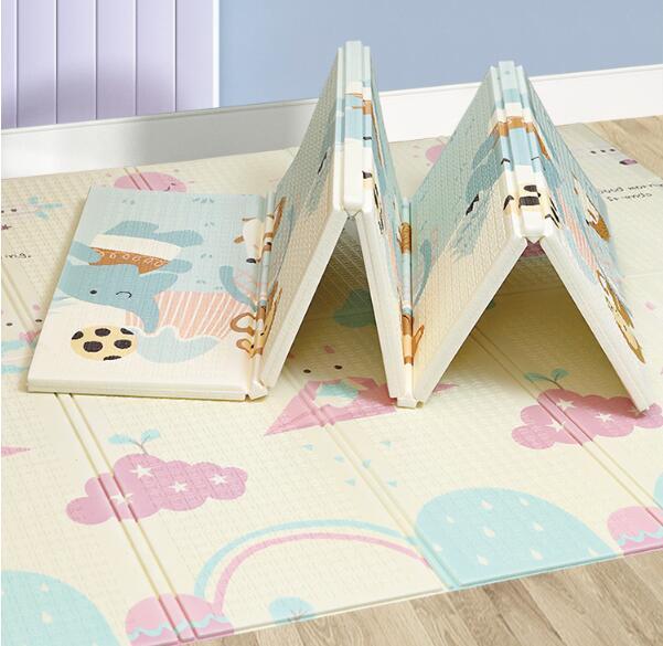 200x180 Baby Play Mat Large Eco-Friendly Foldable Crawling Playmat Soft Carpet Mats climbing Toys For Children Mat Kid Rug