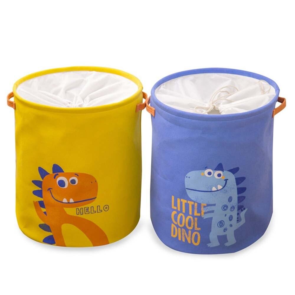 لطيف الحيوان سلة الغسيل تخزين لعبة طوي نزهة الملابس القذرة سلة صندوق القطن غسل صندوق ملابس الطفل المنظم 1 قطعة