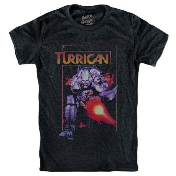 Turrican T camisa Commodore 64 Nes Snes Gameboy