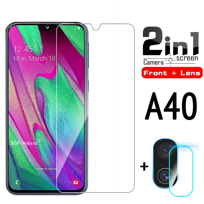 2in1-a40-screen-protector-glass-camera-lens-protetive-glass-for-samsung-samsun-a40-a40-a-40-a-40-a4-0-tempered-glass