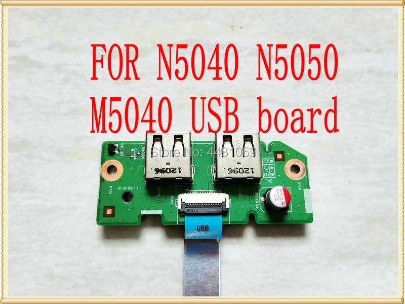 Original DV15 USB 50 4 IP 01 202 fur DELL Inspiron M5040 usb board N5050 usb board N5040 usb board 48 4 IP 20 011 usb board