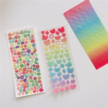 2 Sheets Mini Butterfly Flower Stickers DIY Scrapbooking Stationery Mobile Phone Computer Decoration Sticker Korean Stationery