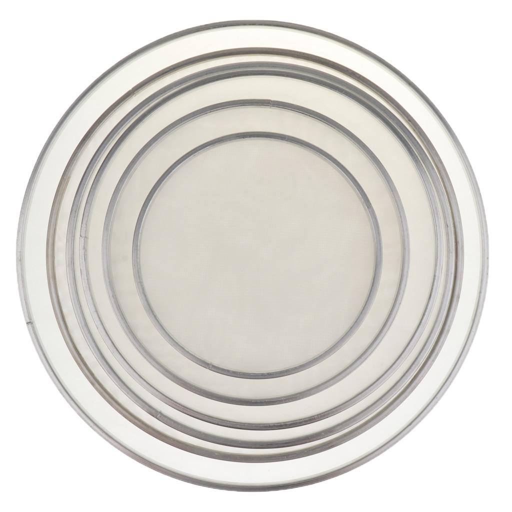Dos capas de malla de tambor de la cabeza conjunto silencio 8''10''12''13''14''16...