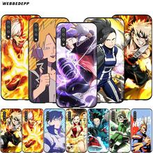 Webbedepp My Hero Academia Case for Samsung Galaxy S7 S8 S9 S10 Plus Edge Note 10 8 9 A10 A20 A30 A40 A50 A60 A70