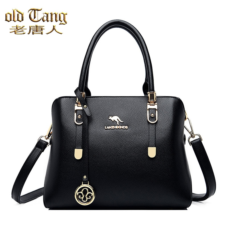 OLD TANG New Fashion High Quality Hand Bags For Women 2020 Pu Leather Large Capacity Shoulder Casual