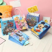 21x15cm gift bag frozen princess mickey minnie mouse avengers cartoon gift wrapping paper bag shopping tote bag party supplies