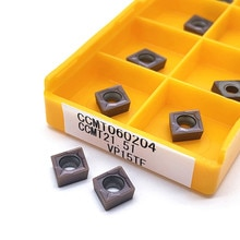 10PCS CCMT060204 CCMT060208 VP15TF UE6020 US735 inner round milling tool CCMT 060204 CNC blade lathe tool milling tool