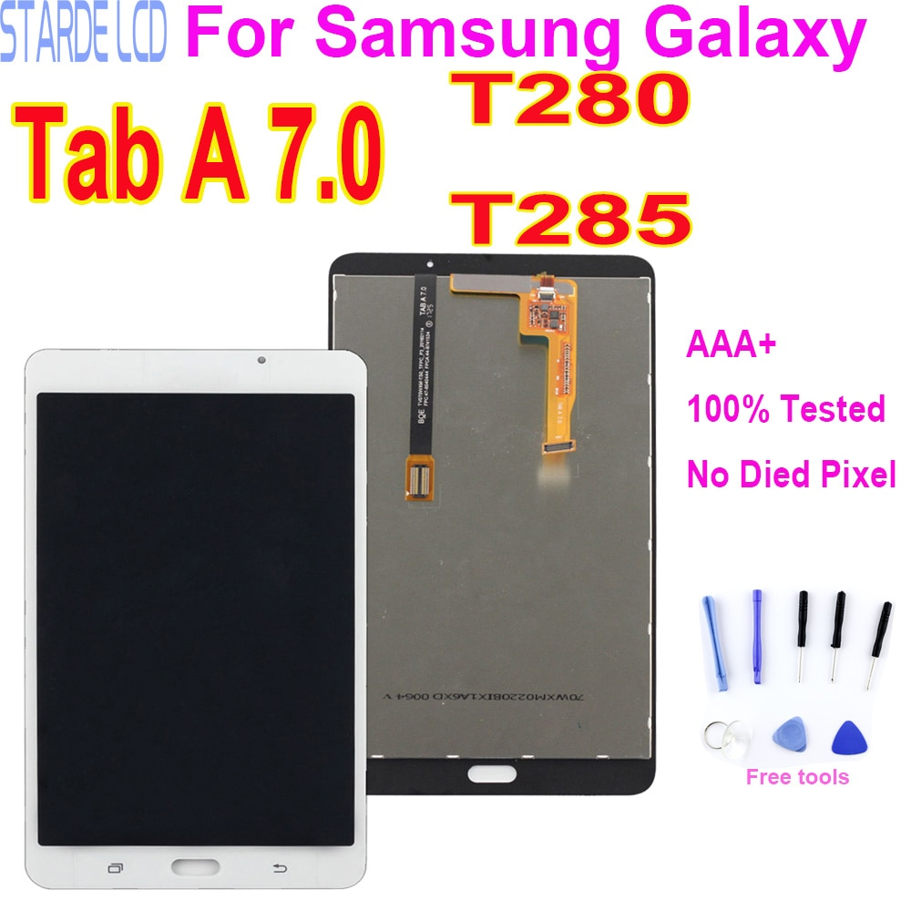 for samsung galaxy core 2 g355 lcd touch screen sm g355h g355h duos digitizer sensor glass display touch panel white black mqnlq 7 LCD Display For Samsung Galaxy Tab A 7.0 2016 SM-T280 WIFI SM-T285 3G Touch Screen Glass Panel Digitizer Assembly Replacement