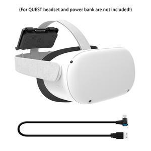 VR Power Holder Fixing Holder for Oculus Quest 1/2 VR Glasses VR Power Holder VR Game Accessories