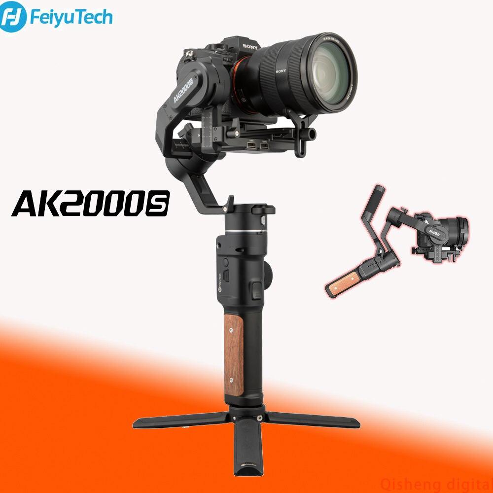 Estabilizador de cardán FeiyuTech AK2000S de 3 ejes, portátil para NIKON, SONY, CANON, DSLR, estabilizador de cámara