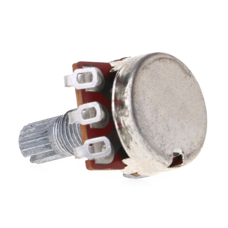 A25K потенциометр шлицы горшок электрика гитара бас эффект усилитель тон громкость 18 мм вал детали