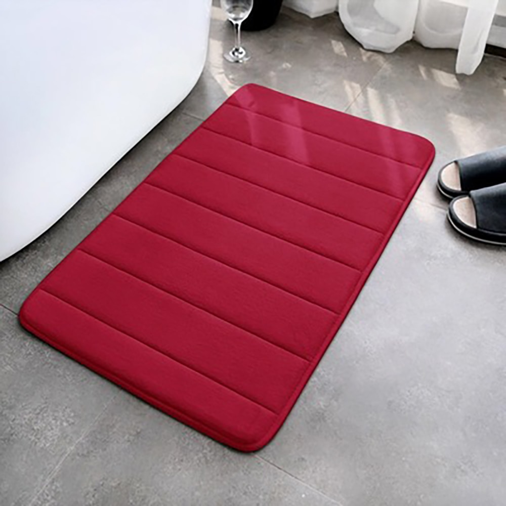Впитывающий напольный коврик, толстый нескользящий напольный мат из пены с эффектом памяти для ванной комнаты, для дома, гостиной