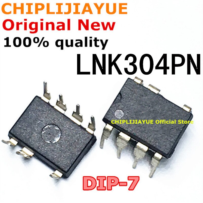 10 Uds LNK304PN DIP7 LNK304 LNK304P DIP-7 nuevo y original IC Chipset
