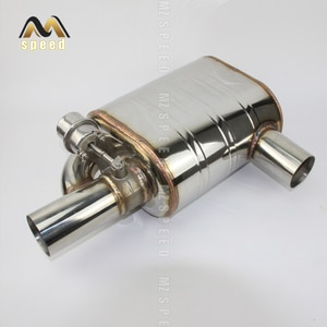 Car exhaust pipe remote control valve exhaust muffler 304 stainless steel remote control switch sound exhaust for BMW E90 E46