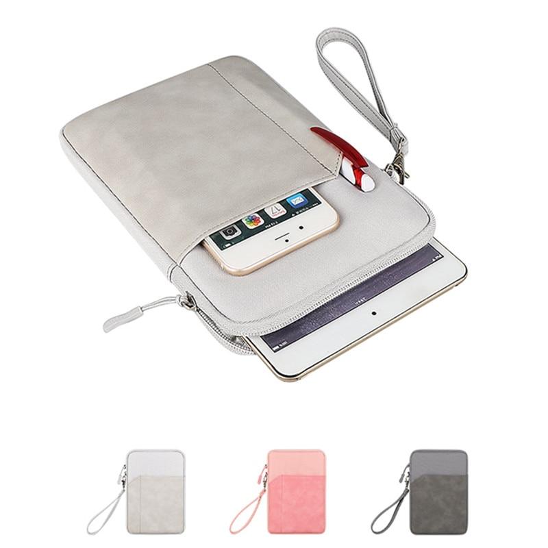 Beutel Universal Fall Abdeckung für 6/6.8/7,8 zoll EBook Reader Fällen für 7/7.85/7.9/8/8,4 zoll Tablet GPS Zipper Sleeve Taschen Fundas