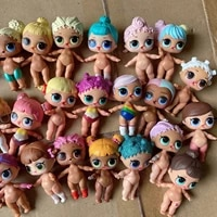 1pc random send l o l surprise lil sisters dolls 4cm baby lols doll girls collection model toys for kid playing birthday gift