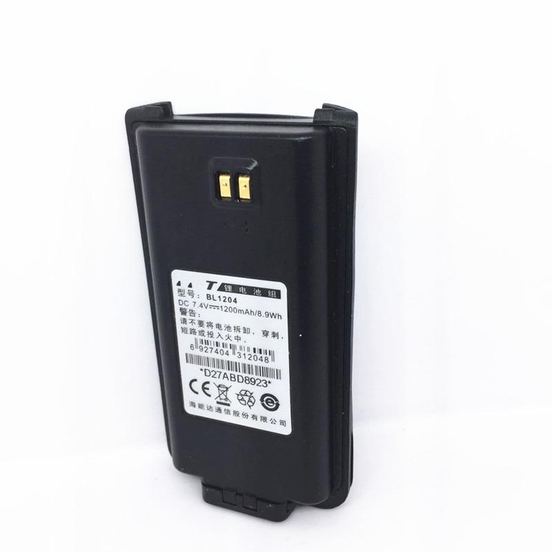 1200MA 7.4V Bateria para HYT TC610 TC-618 TC-620 TC-626 TC-610P TC610S BL1204 Bateria