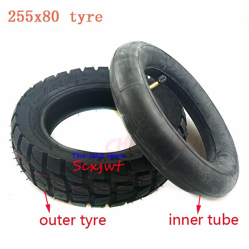 Neumático todoterreno de alta calidad, neumático exterior de 10 pulgadas, tubo interno 10x3.00-6 255x80 para Scooter Eléctrico ZERO 10X y Mantis