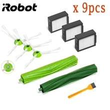 Voor iRobot Roomba i7 E5 E6 Serie Robot Hepa Filter Side Borstel Borstel Roll Stofzuiger hoge kwaliteit Vervanging Spare onderdelen