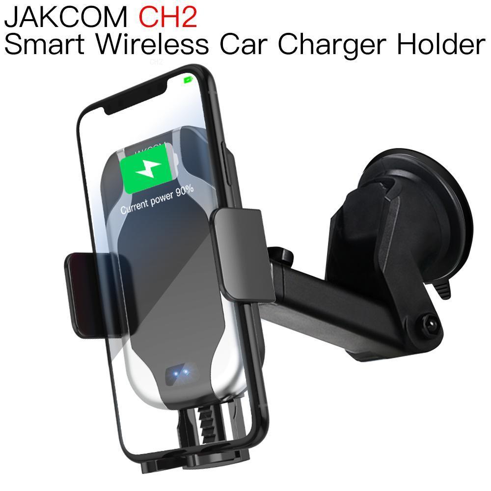 JAKCOM CH2-soporte de montaje para cargador de coche inalámbrico, inteligente, con sensor...