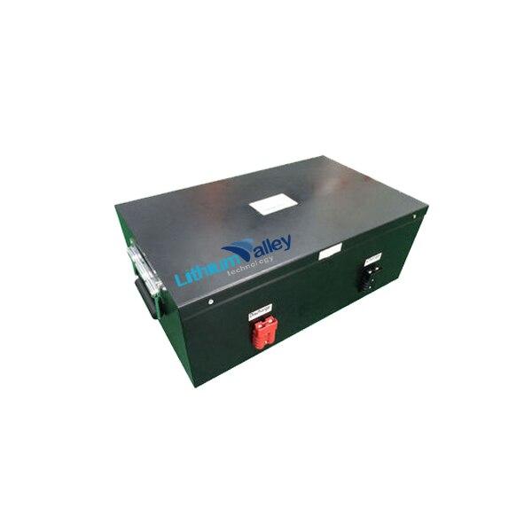 بطارية ليثيوم ذات دورة عميقة 48 فولت 100 أمبير في الساعة lifepo4 لـ 5 كيلو وات/طاقة شمسية/UPS/ RV/EV