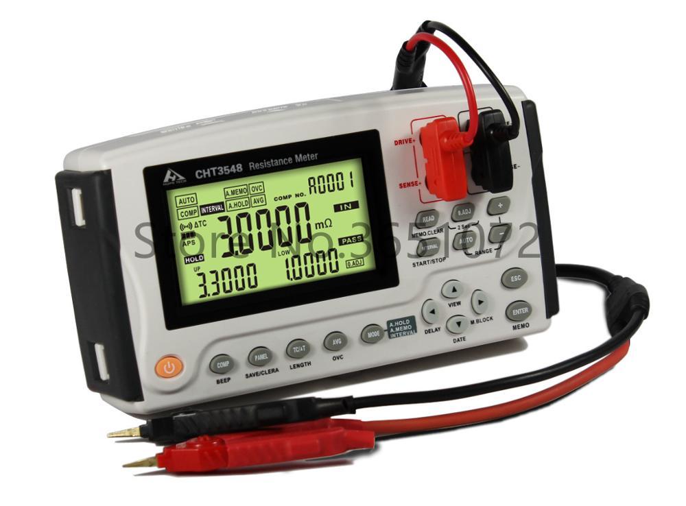 مقياس مقاومة التيار المستمر ، مقياس ميكرو أوم CHT3548