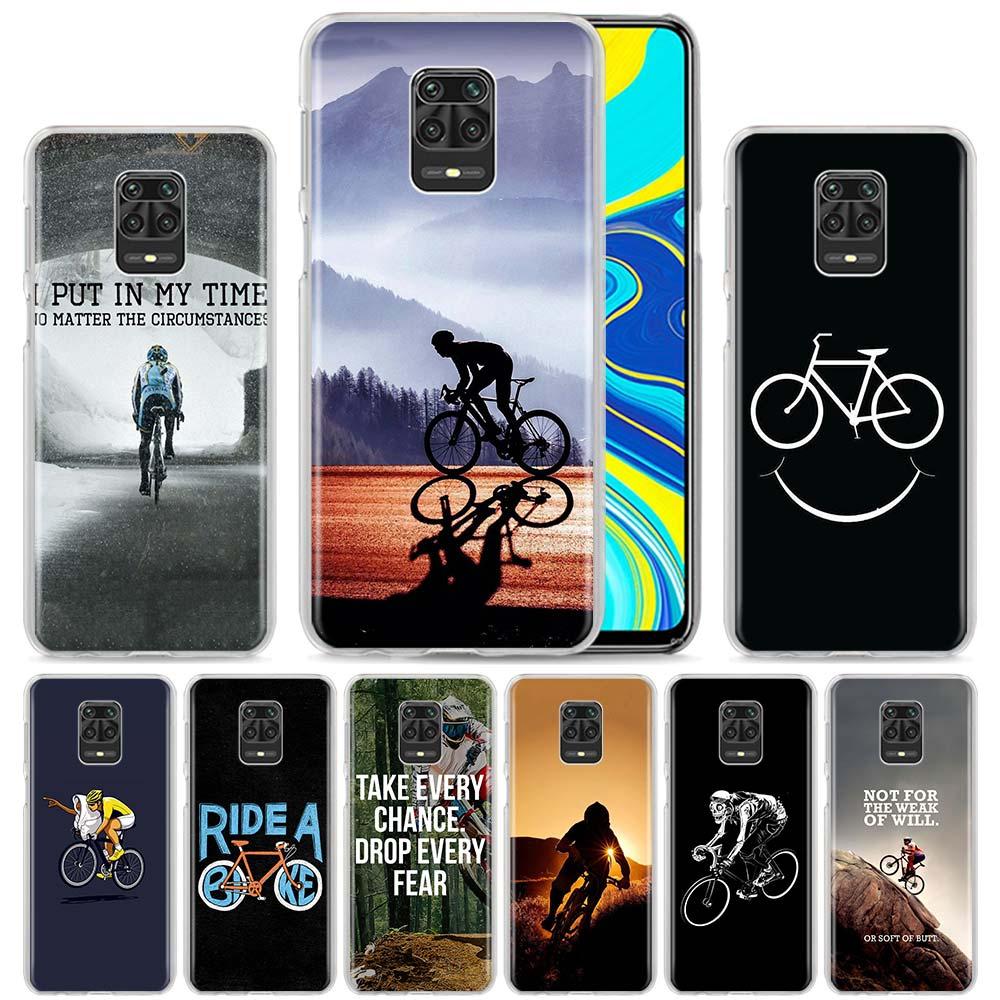 Hard PC Phone Case Cover For Xiaomi Redmi 6 6A 7 7A 8 8A K20 K30 Note 9 Pro Max 6 7 8 Pro 8T 9S Funda Amazing Mountain Bike Bicy