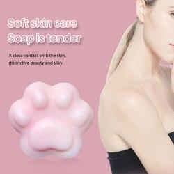 Мыло в форме лапки