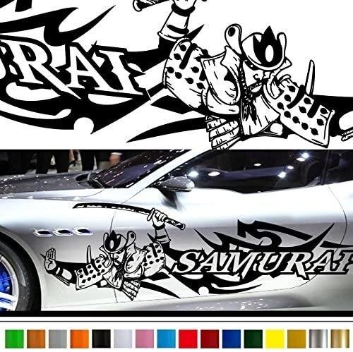 Самурай японский Стиль автомобиля Стикеры Автомобильная виниловая сбоку Графика 226