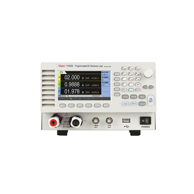 TH8202 آلة تفريغ إلكترونية ، 150 فولت/80 أمبير/350 واط ، قابلة للبرمجة DC