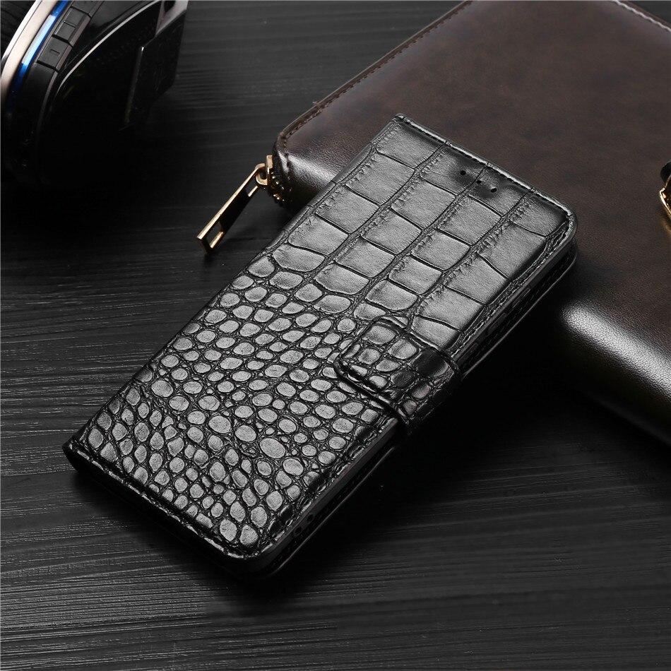 phone Case for Meizu U10 Case Crocodile texture leather flip Case for Meizu U10 Case Cover