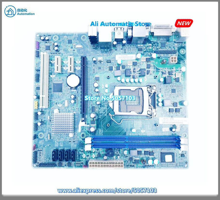 H61H2-AM3 H61H2-CM placa base DDR3 de 1155 pines totalmente integrada