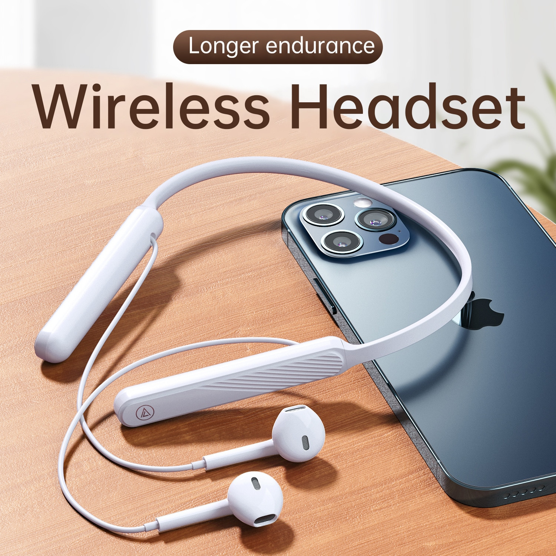 Pendurado sem Fio Fones de Ouvido Estéreo à Prova Resistência com Microfone para Xiaomi Pescoço Bluetooth Alta Fidelidade Dlonger Água Mais 5.0 9d