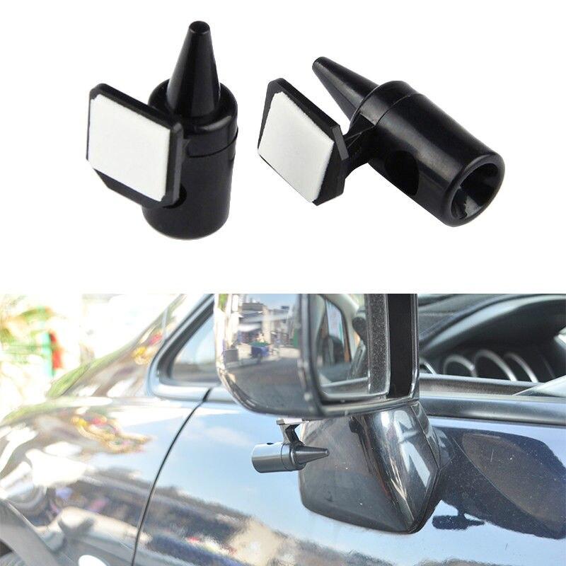 Alarma de advertencia de ciervo negro automotriz con campana de 2 piezas para la conducción del bosque del coche de la bicicleta de engranaje fijo XC-TUL001
