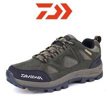 Dawa novos homens sapatos de escalada não deslizamento caminhadas sapatos para homens à prova dwaterproof água tênis homem de pesca sapatos de acampamento caça botas