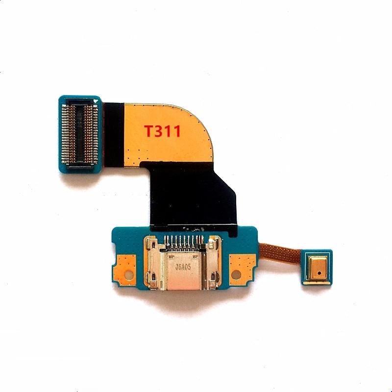 Tab 3 8,0 para Samsung Galaxy T311 T310 puerto de carga USB enchufe Jack conector de carga Cable flexible
