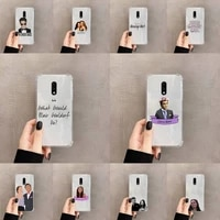 gossip girl love best friends phone case transparent for oneplus meizu meitu m 7 8 9 16 17 t pro xs moible bag