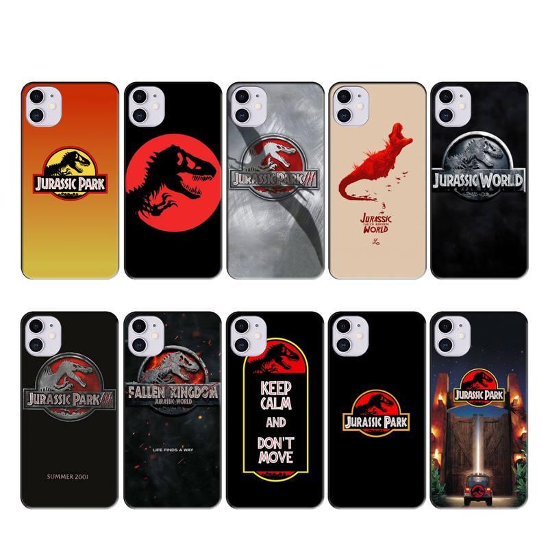 Tao Taoju jurassic park caso coque fundas para iphone 11 PRO MAX X XS X XR 4S 5S 6S 6 7 8 PLUS SE 2020 cubierta de los casos