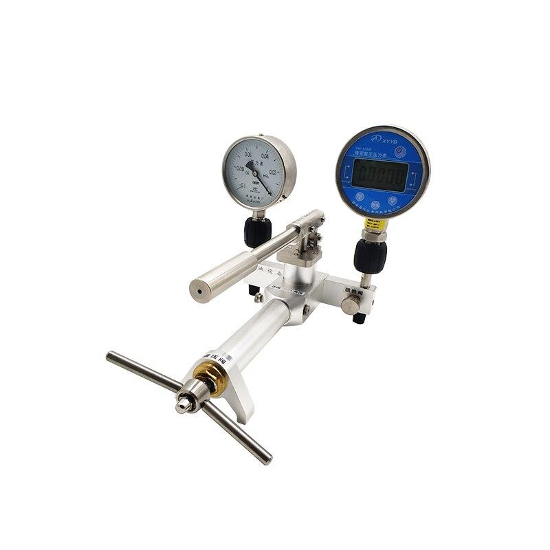 CheapLab أو في الموقع البيئة دليل يده الغاز الهوائية مضخة اختبار الضغط