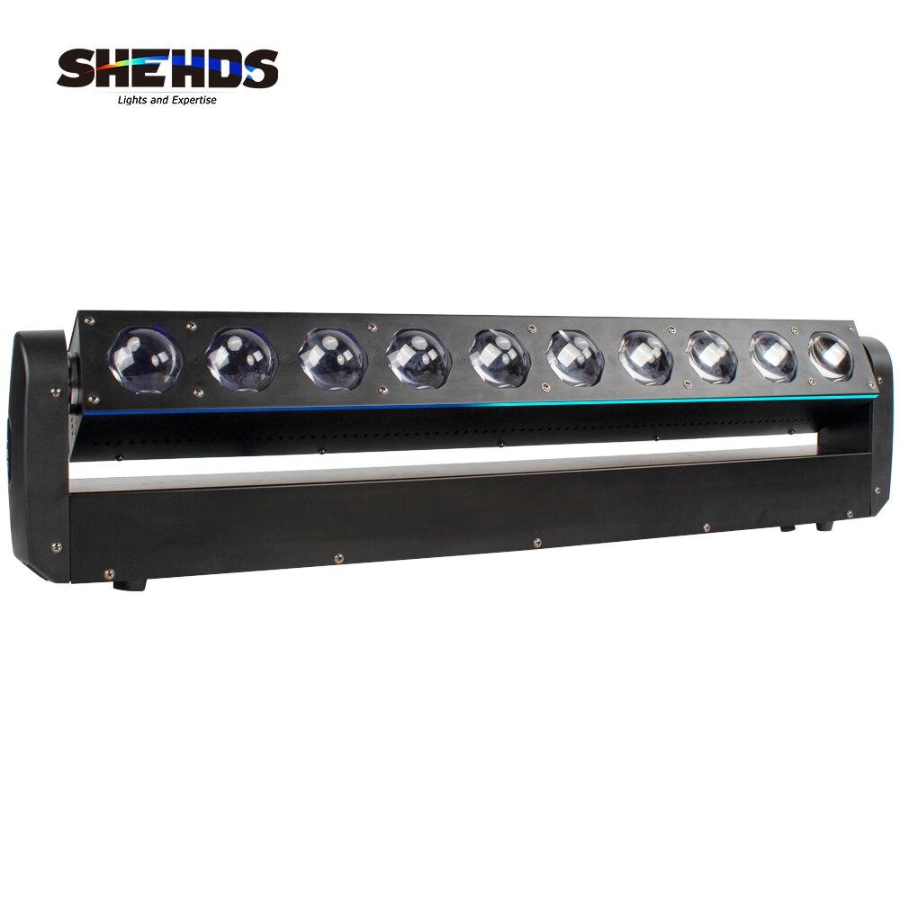 SHEHDS-جهاز عرض ضوئي للرأس المتحرك RGBW 10x40W ، إضاءة رأس السنة الجديدة ، DJ ، ديسكو ، عيد الميلاد