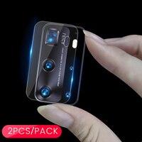 Защитное стекло для задней камеры Huawei P 40 P40 lite light e Pro Plus, 2 шт.