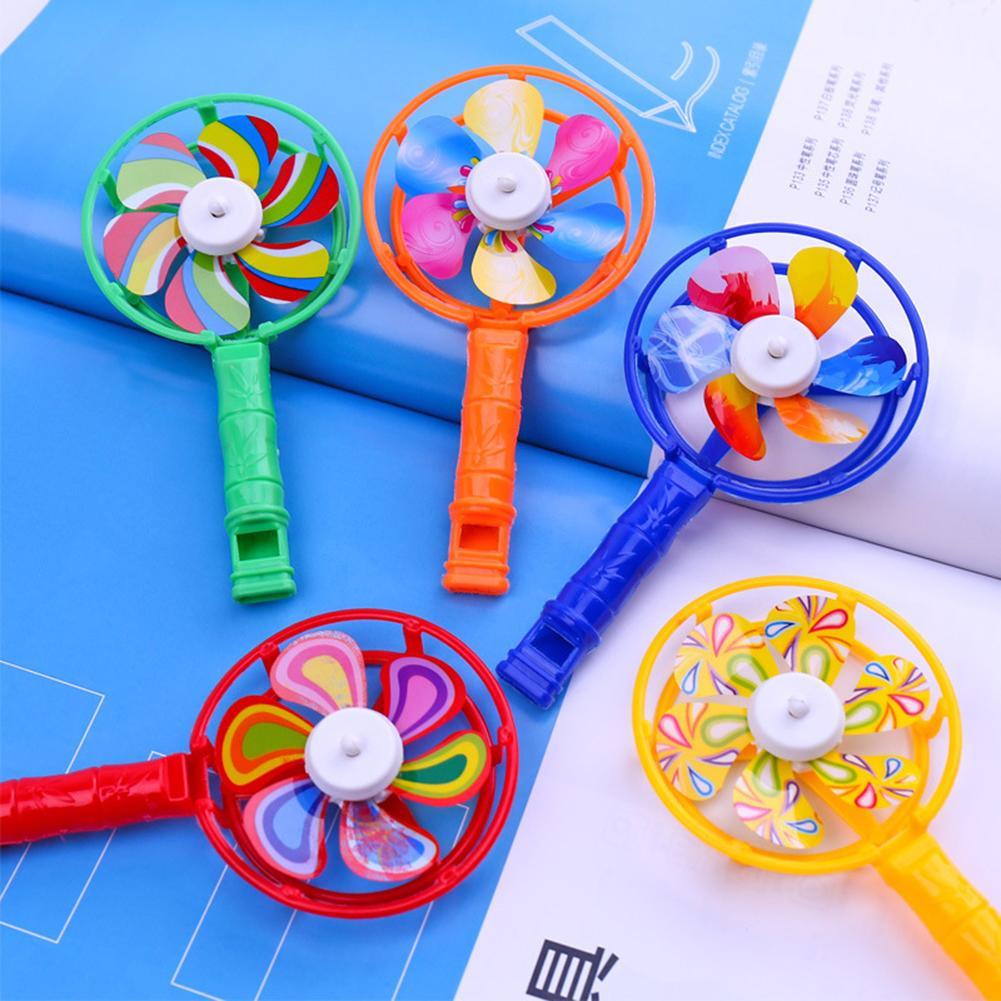 Chico s juguetes 5 uds chico molino silbato de juguete niños colorido molino silbato juguete de desarrollo musical fiesta Props