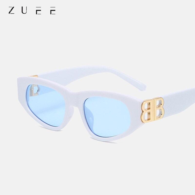 ZUEE Retro Women Sunglasses Small Rectangle Frame Sun Glasses UV400 Protection Eyewear Summer Travel