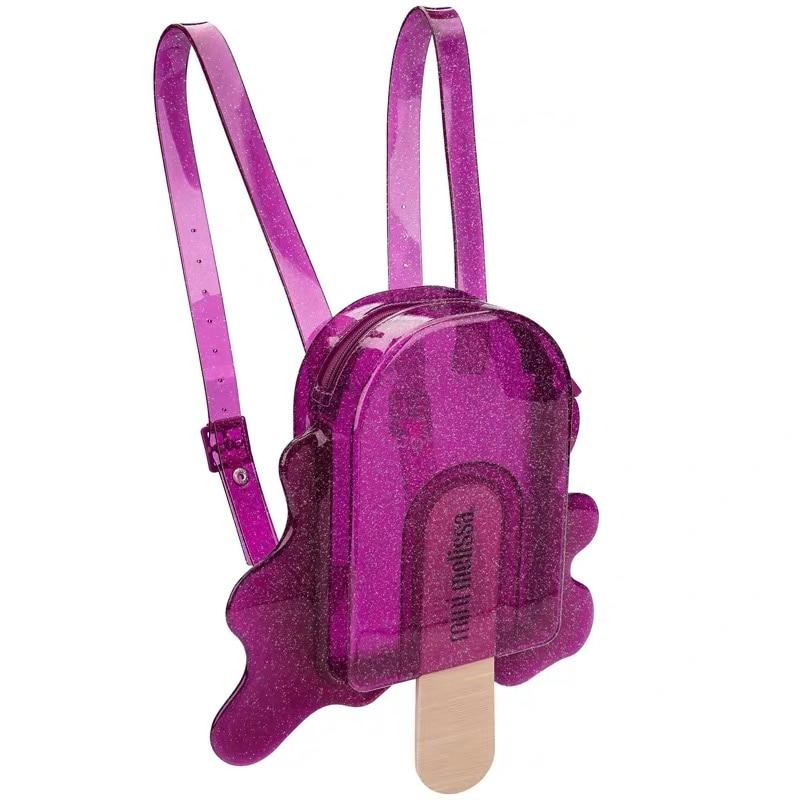 Mini Melissa Handbags Kids Shoulder Jelly Bag Purse Bags 2021 New Jelly Melissa Club Popsicle Bags Clear Bags for Women