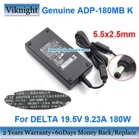 genuine adp 180mb k 19 5v 9 23a 180w delta ac adapter p650re power supply for msi gs65 ge72vr 7rg gs63vr 6rf gs73 17b4 ge63 gt70