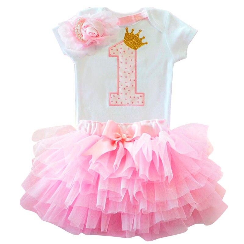 Vestido para a menina do bebê vestido de batismo primeiro 1st festa de aniversário da menina roupas do bebê da criança roupas de verão infantil