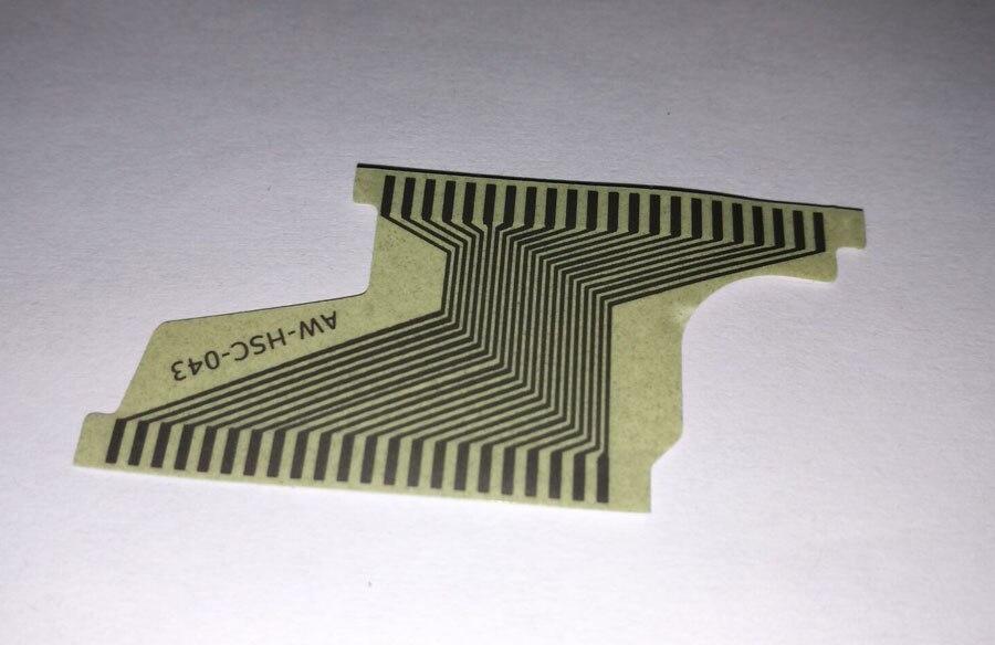 2020 5 pçs cabo de fita para opel corsa meriva instrumento cluster plana lcd conector morto faltando pixel substituição reparação
